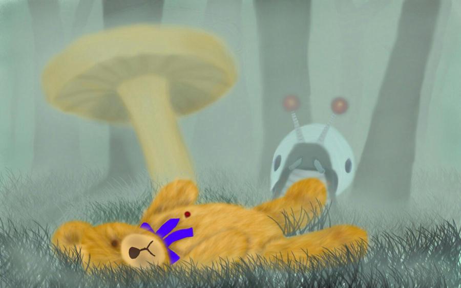 Destruction Of A Childhood Dream by volker03