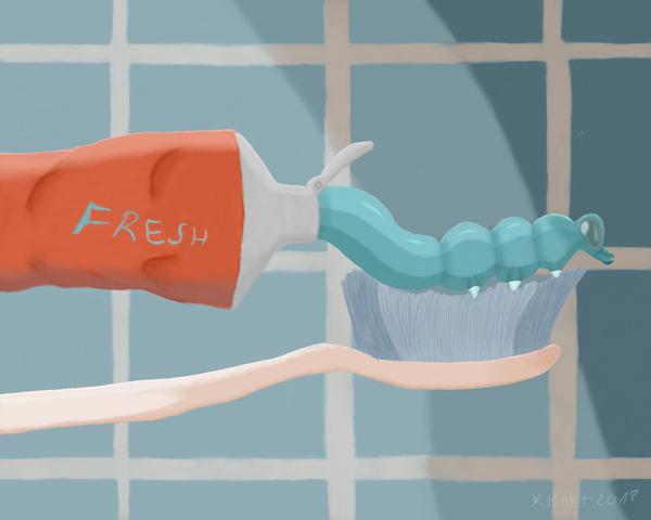 Teeth cleaner by volker03
