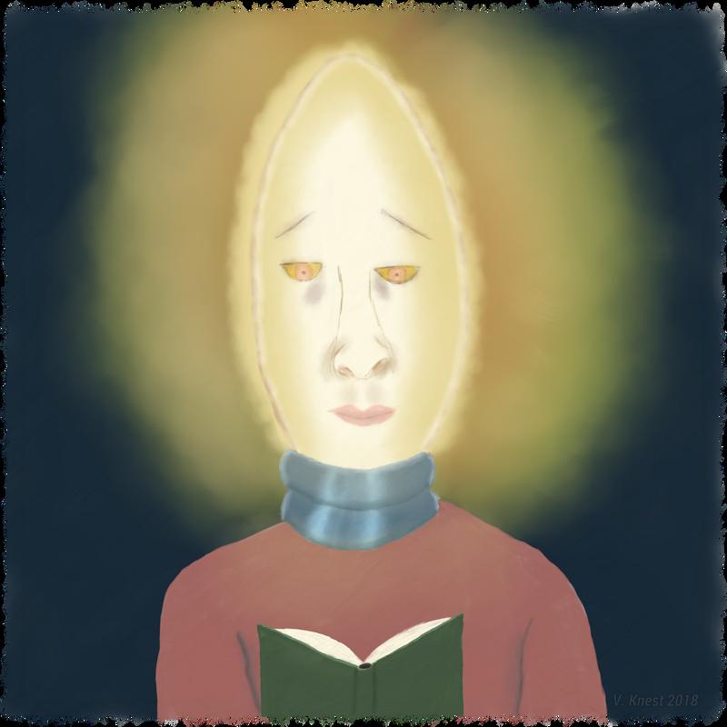 Glowing Head by volker03