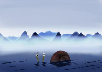 The  Loch  Snail  Monster
