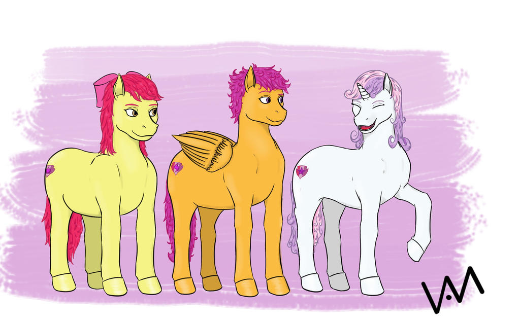 Cutie Mark Crusaders by 0-Van-0