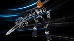 [MMD] Roxas Wallpaper + X-blade DL