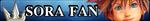 Fan Button: Sora by AriquaXIII