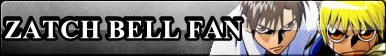 Fan Button: Zatch Bell