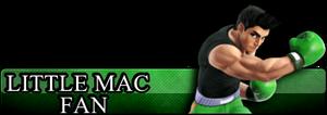 Fan Button: Little Mac