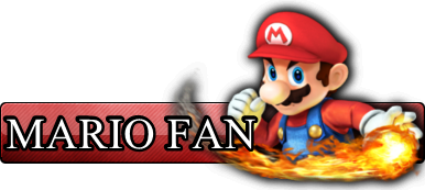 Fan Button: Mario by AriquaXIII