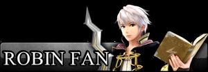 Fan Button: Robin M