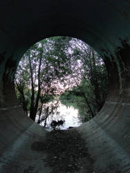 Tunnel to nature - Stock 02