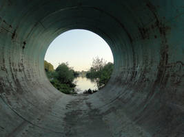 Tunnel to nature - Stock 03