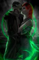 New life - Thane and Shepard by Lara-Esori