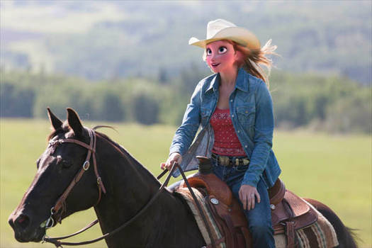 Anna the cowgirl