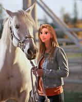 Rapunzel the horserider sweet heart