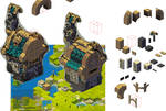 Haven-World Mmo Wakfu: little stone house //WIP