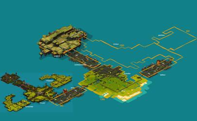 wakfu MMO: Brakmar world map