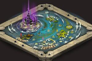 WAKFU new world map v2 by Sevpoolay