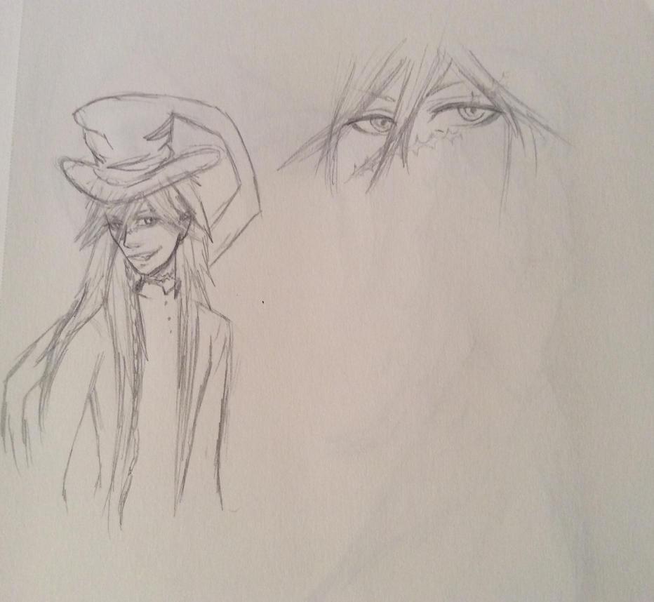 Undertaker (practice scribbles) by xXxLunaAstralxXx