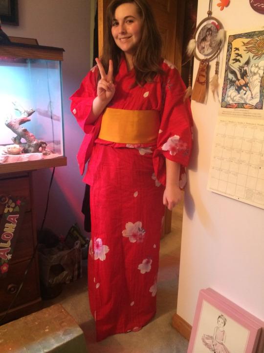 I bought a yukata by xXxLunaAstralxXx