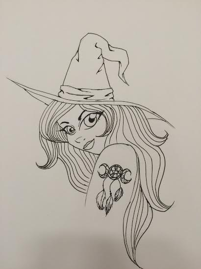 Little Witch by xXxLunaAstralxXx