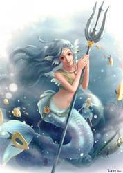 The mermaid by Furea93