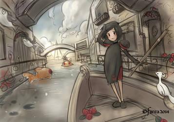 Water city by Furea93