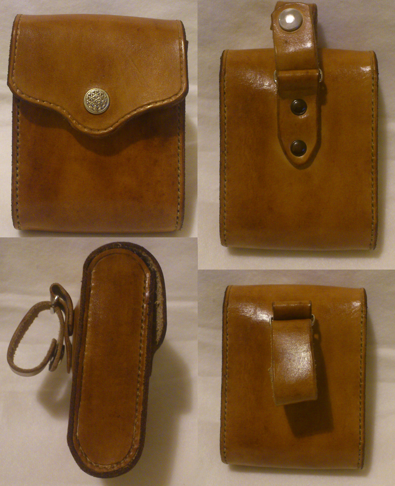 rigid leather belt pouch by rwolf1970 on deviantart
