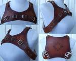 Bolero Harness in Leather