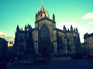 Cathedral in Edinburgh