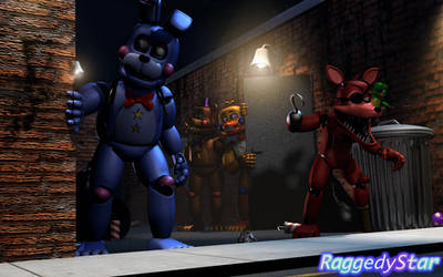 Through The Back Alley by RaggedyStar