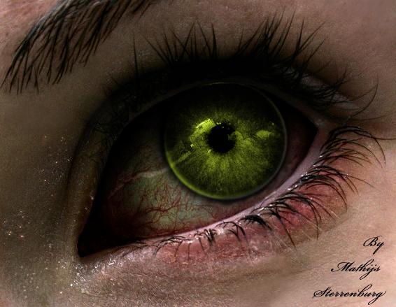 Cyborg eye by MyBurningEyes