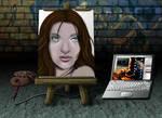Digital Painting by MyBurningEyes