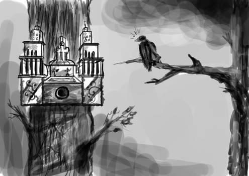 Baroque sketch 9