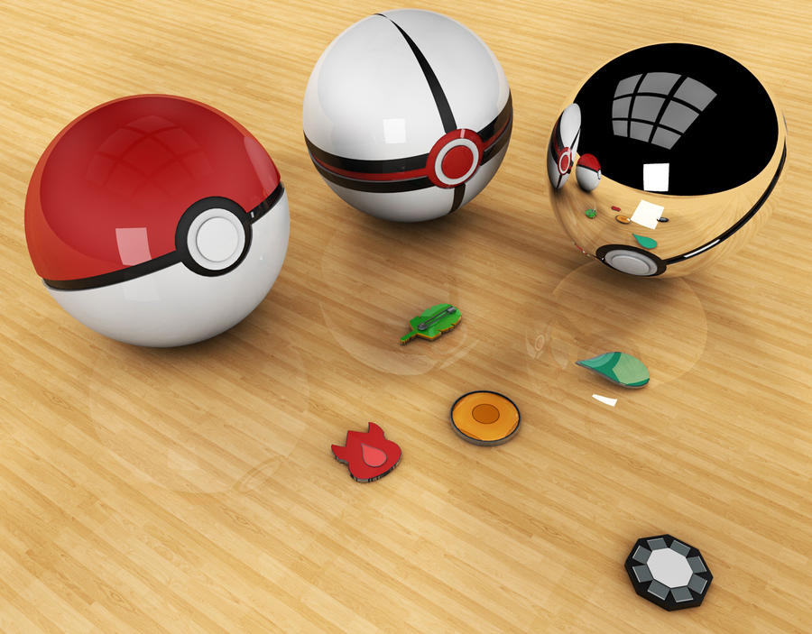 Real Pokeballs That Work First 3D attempt: Poke...