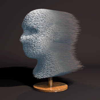 Daily render #17: Human Shell by MyBurningEyes