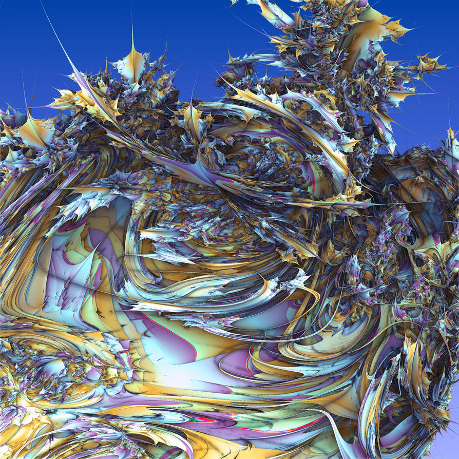 Daily render #28: Mandelbrot Mantis by MyBurningEyes