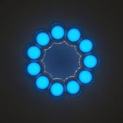 Daily Render #62: Blueberry Bubble by MyBurningEyes