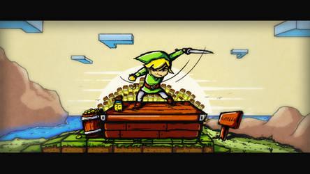 Link's Lovely Lemonade by MyBurningEyes