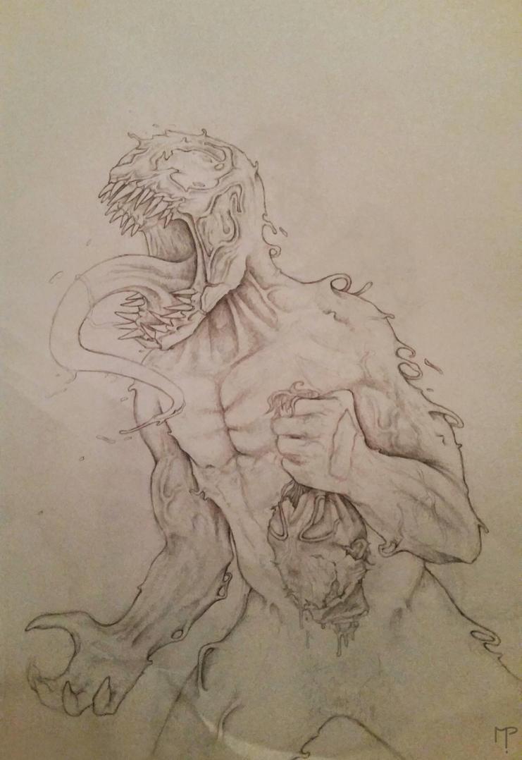 Venom (sketch) by Mpapa
