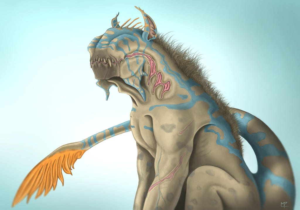 - Hyena / Raptor Creature - by Mpapa