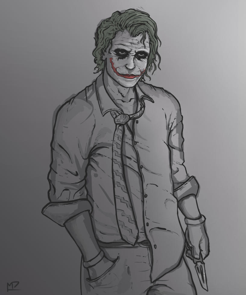 The Joker by Mpapa