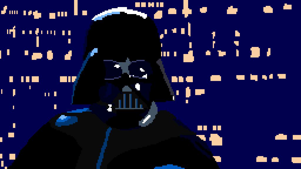 Darth Vader Pixel Art By Phantomlynx123 On Deviantart