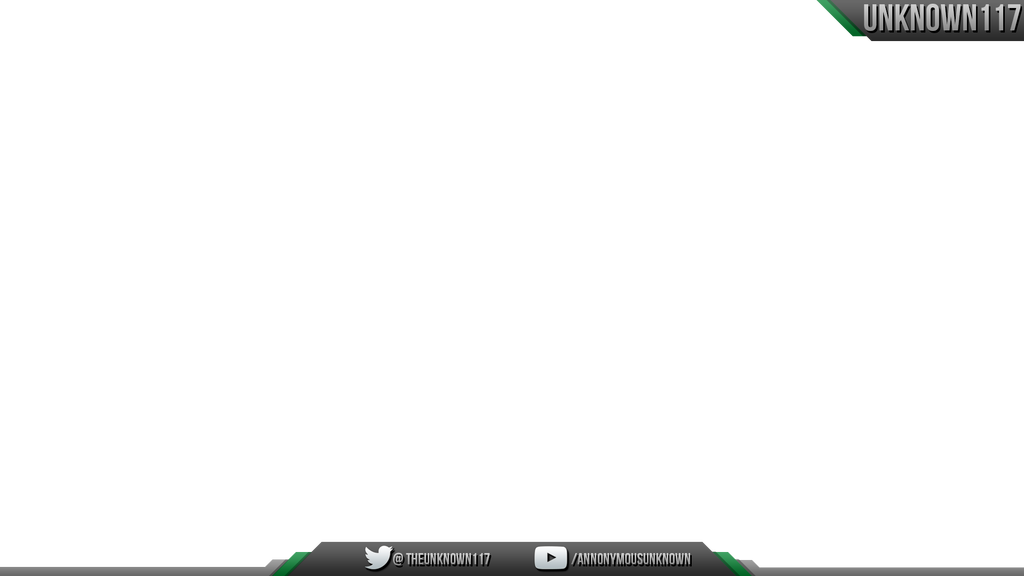 free twitch overlay template - twitch overlay unknown117 by bugedits on deviantart