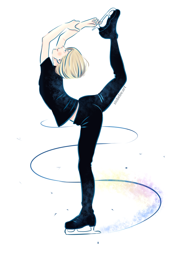 Yuri Plisetsky Fan Art By SiobeleeArt