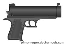Integral arms Industry handcannon by WeirdWackyWonderful