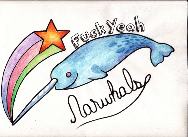 Apologise, but, Narwhal fuck yeah