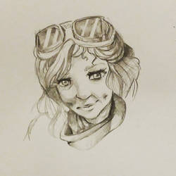 pencil portrait  by Sifle