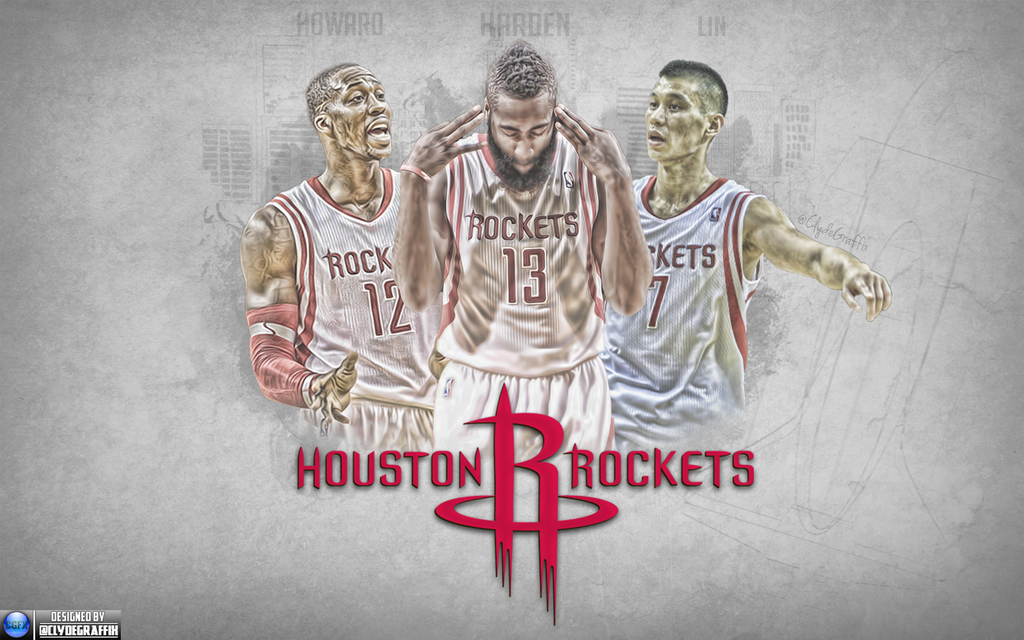 houston rockets wallpaper by clydegraffix on deviantart