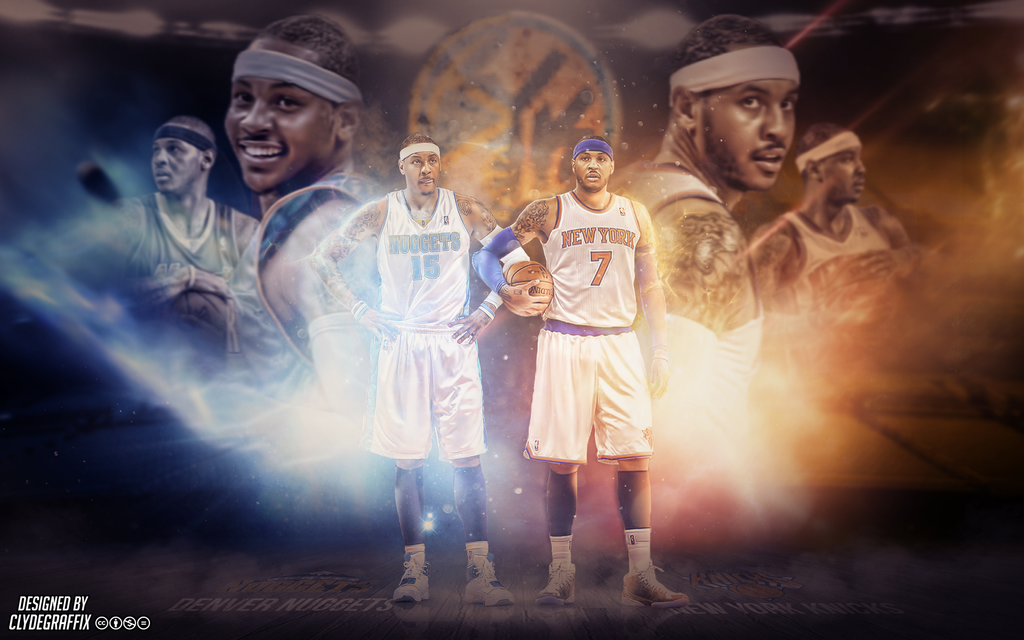 Carmelo anthony wallpaper by clydegraffix on deviantart carmelo anthony wallpaper by clydegraffix voltagebd Images