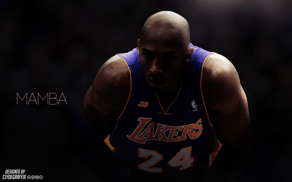 Kobe Bryant 'Mamba' | Wallpaper by ClydeGraffix