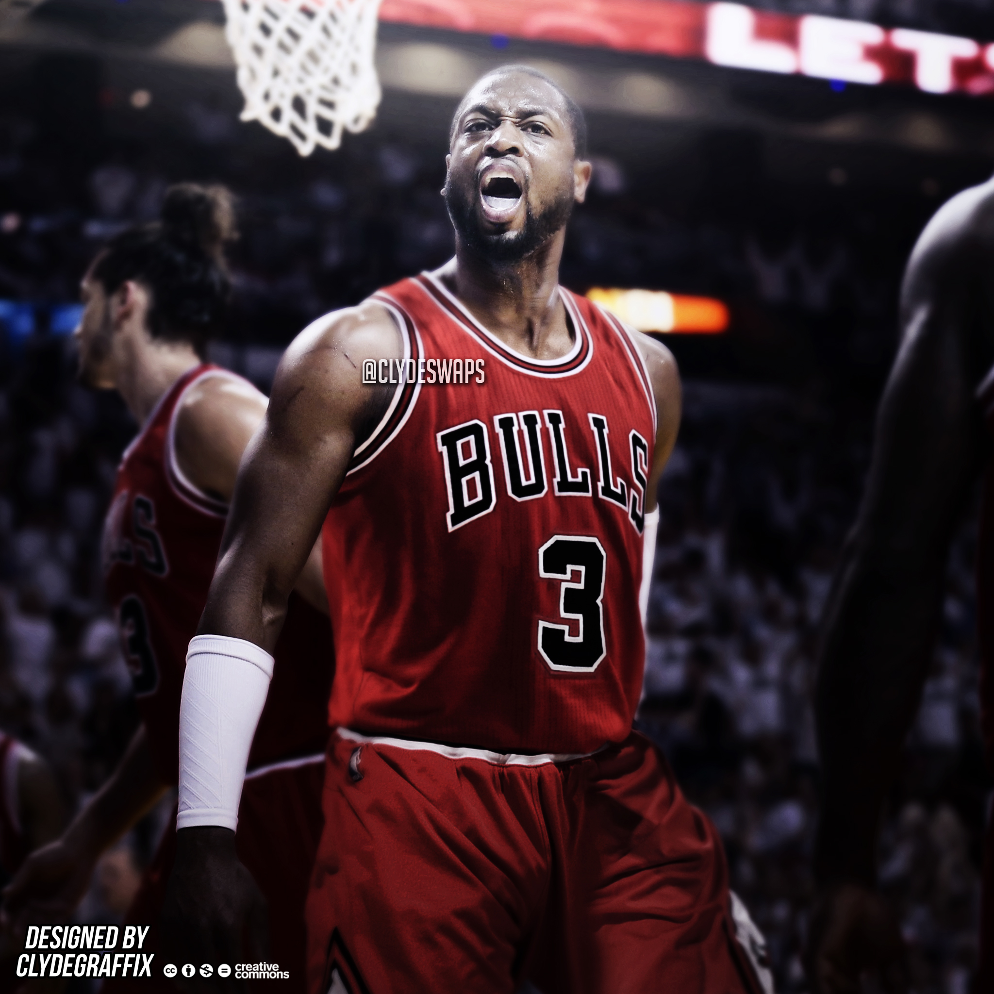 Dwyane Wade to the Chicago Bulls   Jersey Swap by