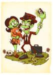 Selfie Zombie- Entadecer dos mortos [Fanart]